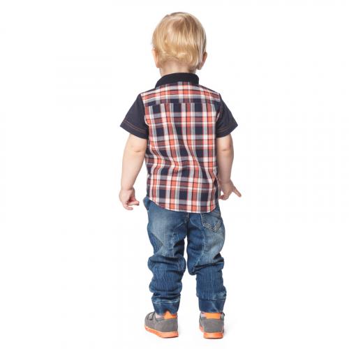 Сорочка детская текстильная для мальчиков