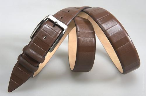Мужской ремень № 16223 ,цвет коричневый