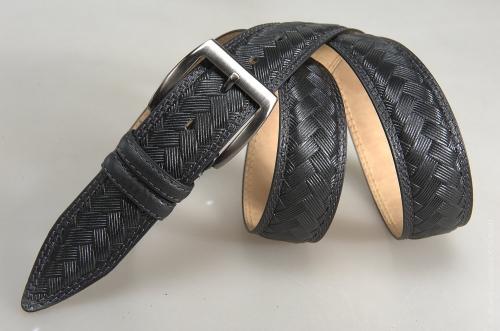 Мужской ремень № 17668 ,цвет черный