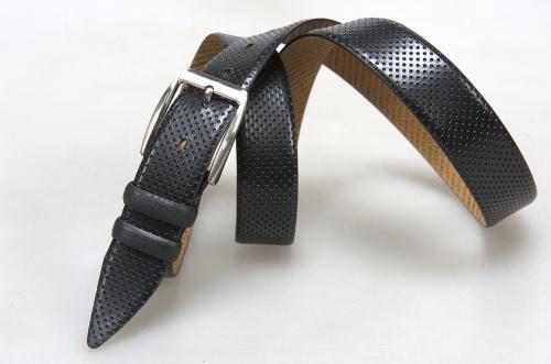 Мужской ремень № 16046 ,цвет черный