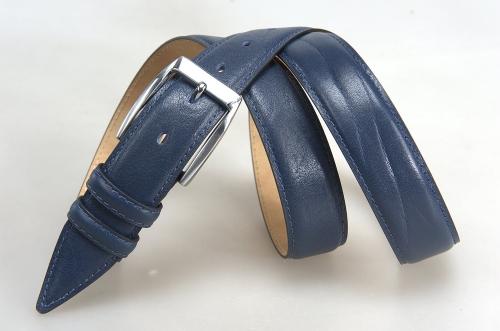 Мужской ремень № 17393 ,цвет синий