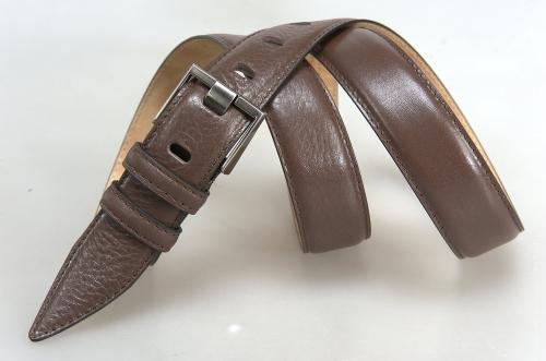 Мужской ремень № 17386 ,цвет коричневый