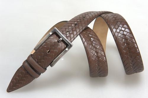 Мужской ремень № 15846 ,цвет коричневый