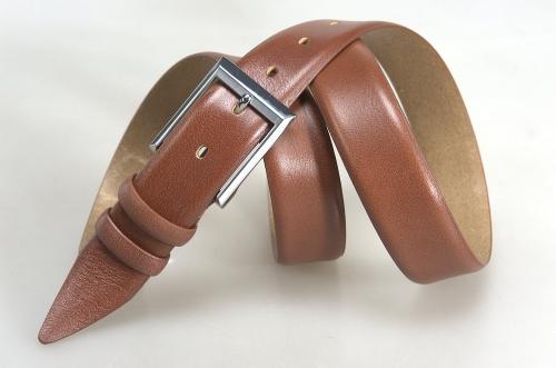 Мужской ремень № 17862 ,цвет светло-коричневый