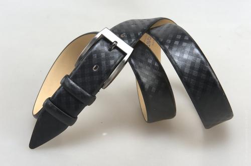 Мужской ремень № 17948 ,цвет черный