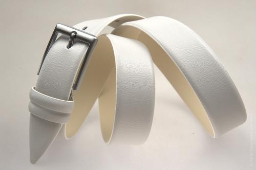 Мужской ремень № 13530 ,цвет серый