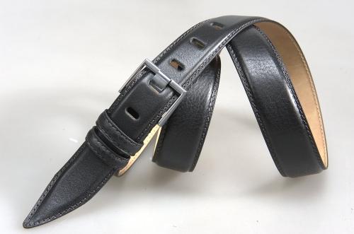 Мужской ремень № 16023 ,цвет черный