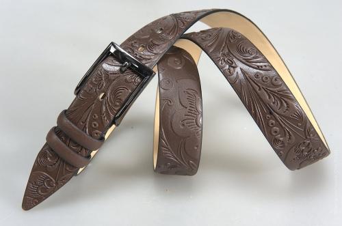 Мужской ремень № 15769 ,цвет коричневый