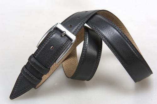 Мужской ремень № 16353 ,цвет черный