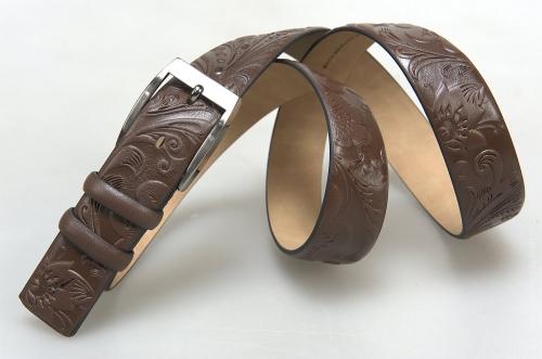 Мужской ремень № 16272 ,цвет коричневый
