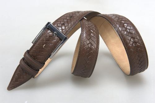 Мужской ремень № 15662 ,цвет коричневый