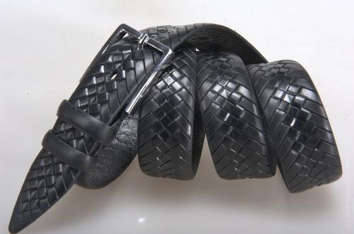 Мужской ремень № 14379 ,цвет черный