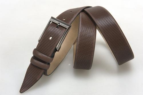 Мужской ремень № 16308 ,цвет коричневый