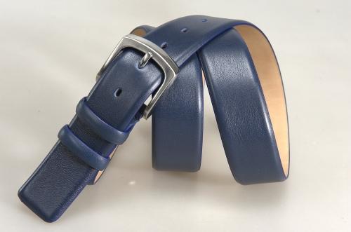 Мужской ремень № 17790 ,цвет синий