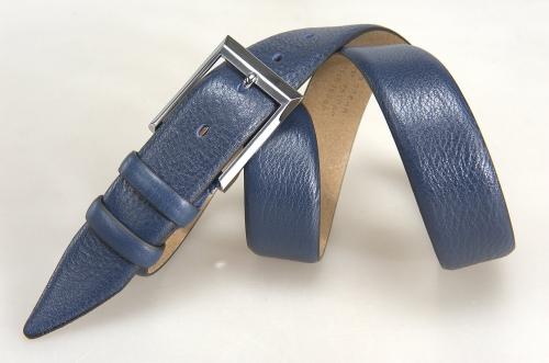 Мужской ремень № 17864 ,цвет синий