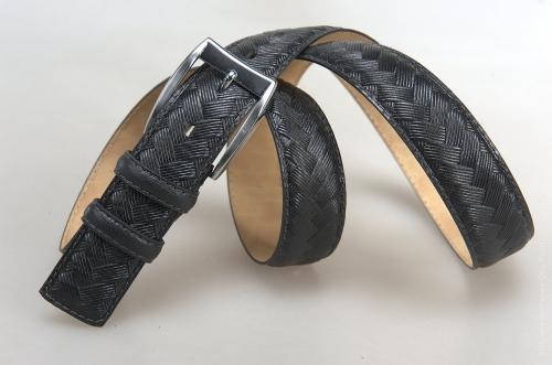 Мужской ремень № 17539 ,цвет черный