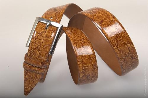 Ремень № 5904 ,цвет коричневый