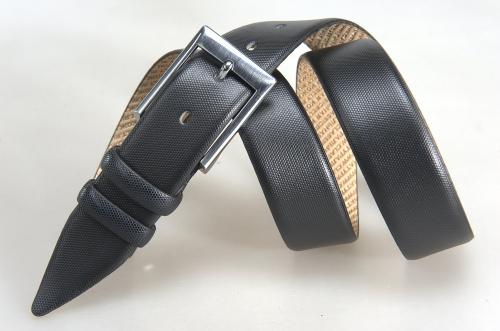 Мужской ремень № 17575 ,цвет черный