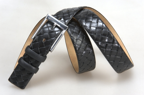 Мужской ремень № 17133 ,цвет черный