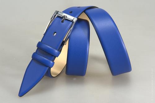 Мужской ремень № 15386 ,цвет синий