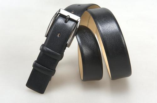 Мужской ремень № 18043 ,цвет черный