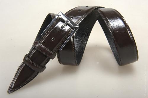 Мужской ремень № 14741 ,цвет коричневый