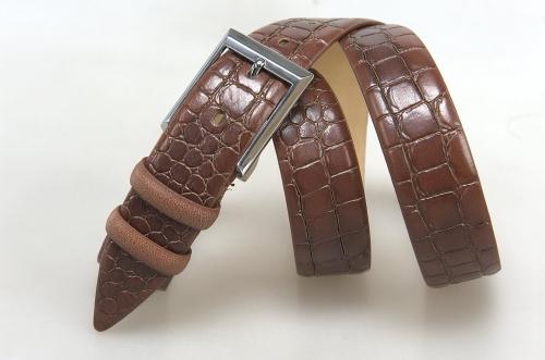 Мужской ремень № 18066 ,цвет коричневый