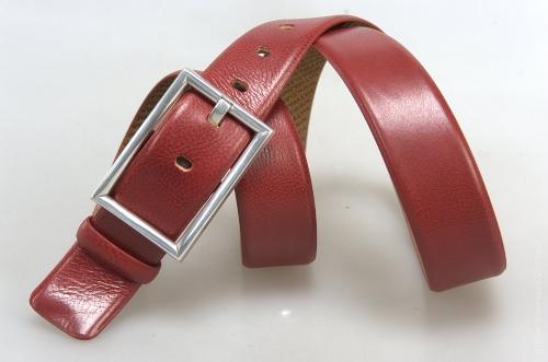 Ремень № 17565 ,цвет красный