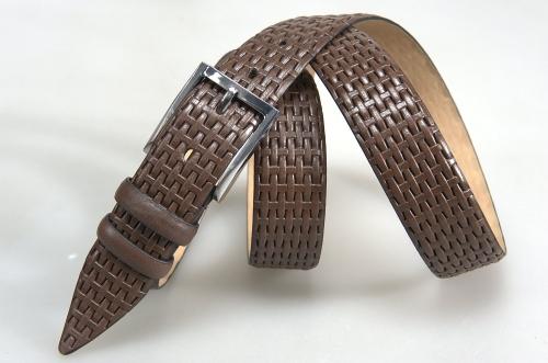 Мужской ремень № 15684 ,цвет коричневый
