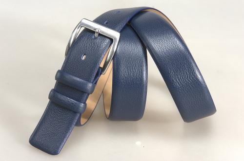 Мужской ремень № 17789 ,цвет синий
