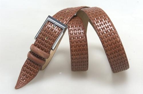 Мужской ремень № 17905 ,цвет светло-коричневый