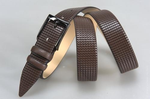 Мужской ремень № 15770 ,цвет коричневый