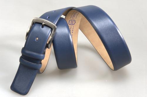 Мужской ремень № 16135 ,цвет синий