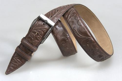 Мужской ремень № 16279 ,цвет коричневый
