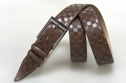 Мужской ремень № 16313 ,цвет коричневый
