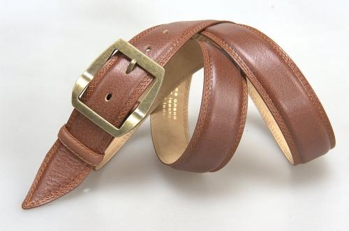 Ремень № 17059 ,цвет светло-коричневый
