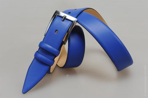 Мужской ремень № 15243 ,цвет синий