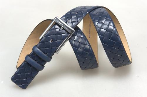 Мужской ремень № 16102 ,цвет синий