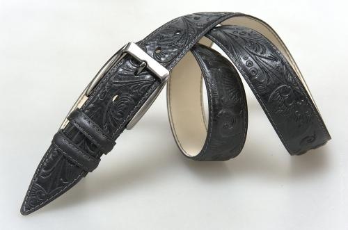 Мужской ремень № 16273 ,цвет черный