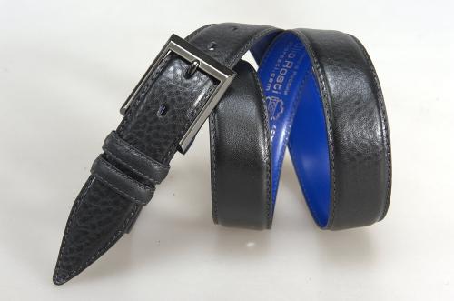 Мужской ремень № 17731 ,цвет черный