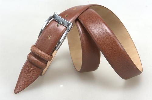 Мужской ремень № 18104 ,цвет светло-коричневый