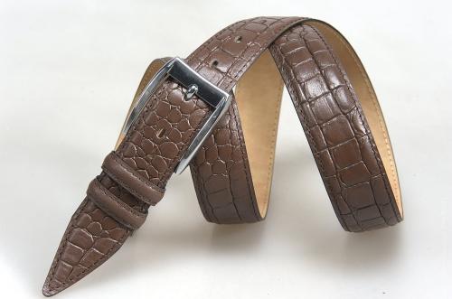 Мужской ремень № 16498 ,цвет коричневый