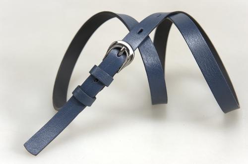 Женский ремень № 16284, цвет синий