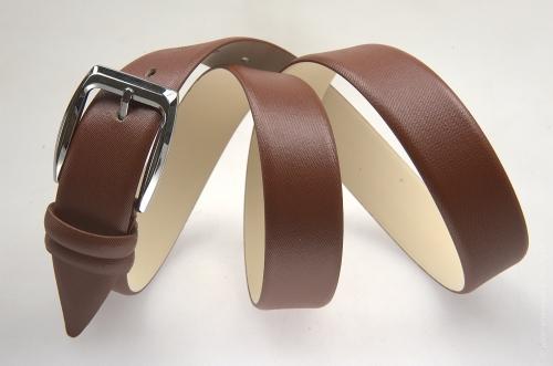 Мужской ремень № 13518 ,цвет коричневый