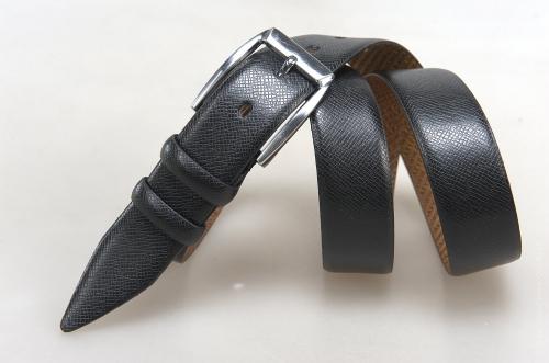 Мужской ремень № 17624 ,цвет черный