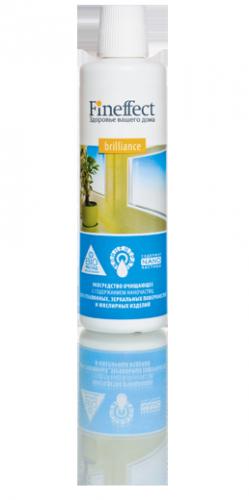 Brilliance. Экосредство с содержанием наночастиц для стеклянных, зеркальных поверхностей и ювелирных изделий, 250 мл