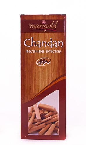 Благовония угольные  Сандал 15гр/Marigold - Black Incense Sticks - Chandan 15GM