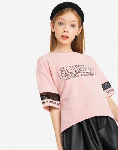 Джемпер GKT012970 цвет:розовый