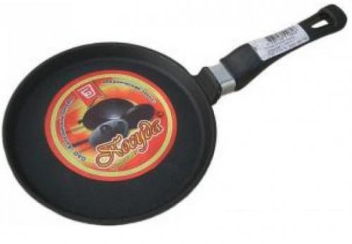 Сковорода чугунная С-220/15-1  с ручкой
