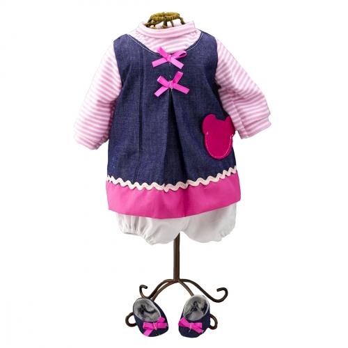 Одежда для куклы девочки Baby Pink 98241
